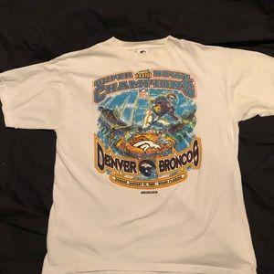 Vintage superbowl t shirt